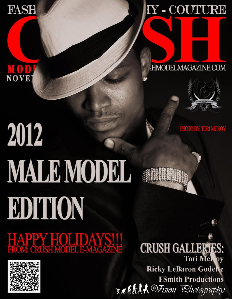Crush Model e-Magazine's MALE MODEL EDITION