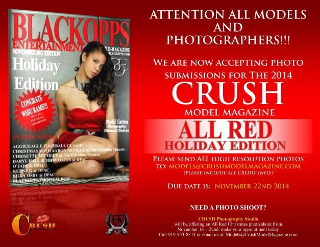 ALL RED Flyer 2014