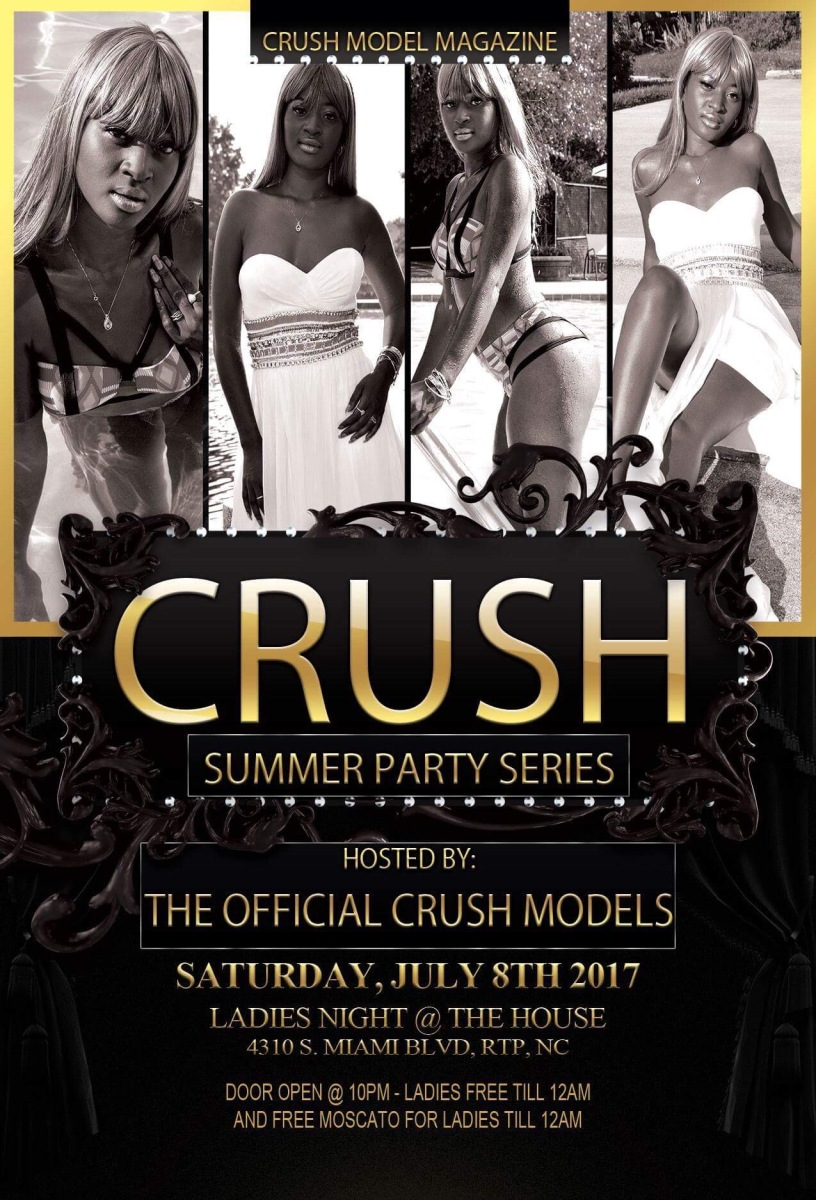 Tomorrow Night!!! Join Us For The SUMMER CRUSH PARTY SERIES #2 -Saturday July 8th!!!