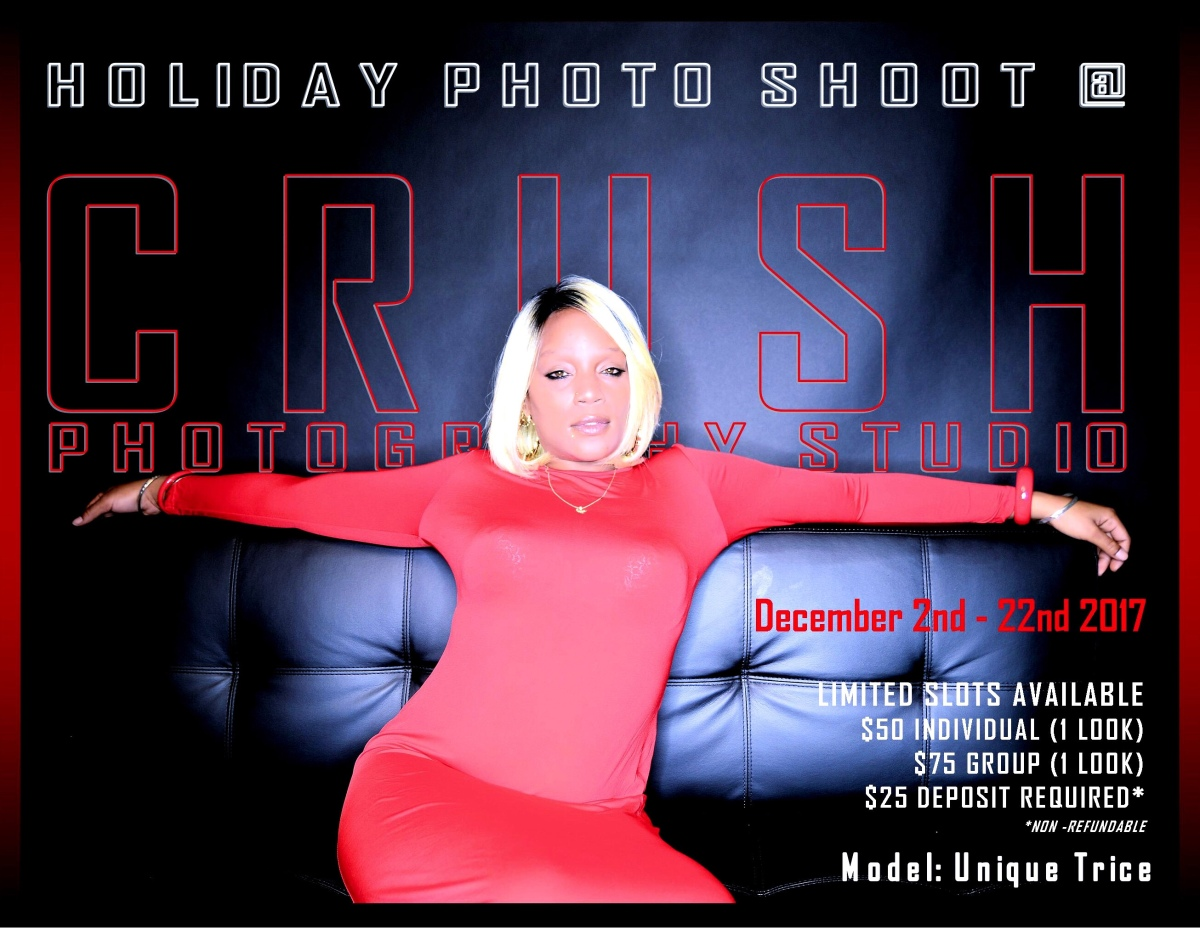 CRUSH Photography Studio - HOLIDAY PHOTO SHOOTS!!!