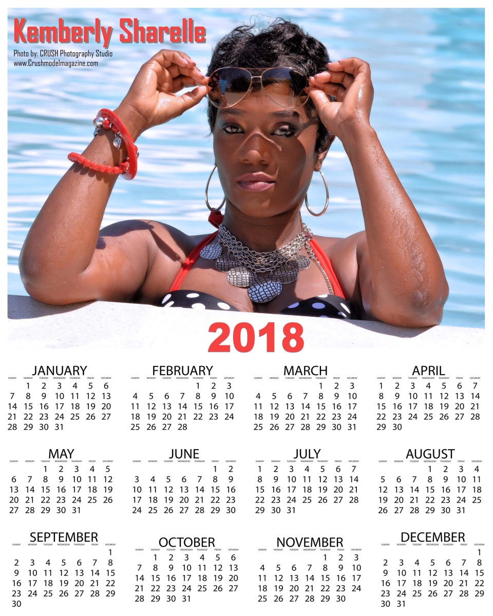 CRUSH Photography studio - Poster Size Calendars